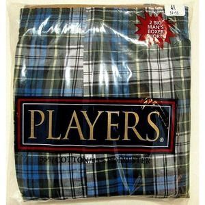 PLAYERS Boxer Shorts ASSORTED Patterns Colors 2-Pk